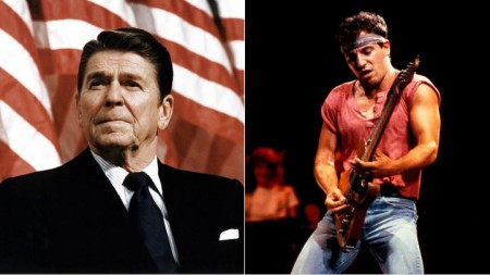 "Ronald Reagan tried to use Bruce Springsteen's ""Born in the USA"" without permission in 1984."