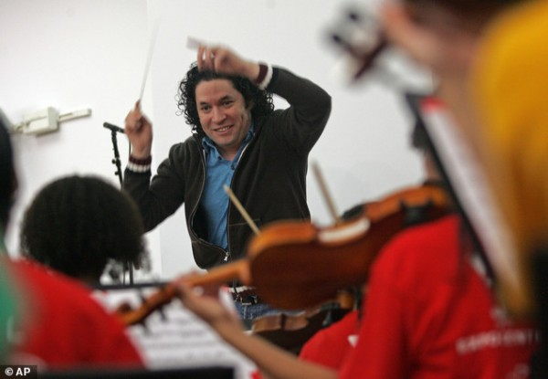 Gustavo Dudamel and the Youth Orchestra of Los Angeles