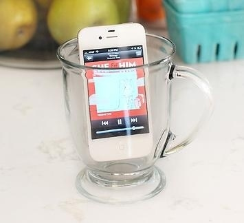 Amplify your iPhone with a glass!