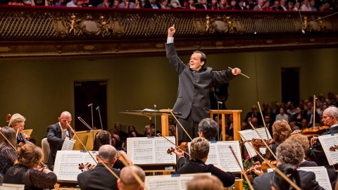 Andris Nelsons with BSO
